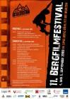 Offizielles Plakat zum Bergfilmfestival in Böhlitz