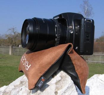 Der Bohnensack als Fotostativ