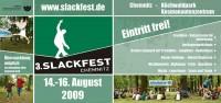 Flyer zum 3. Slackfest Chemnitz