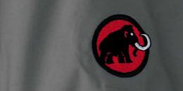 Alle Mammut Jacken schmückt das bekannte Markenzeichen des Schweizer Ausrüsters