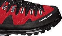 Seit 2009 schmückt das Mammut Logo Schuhe für Bergwanderer und Alpinisten