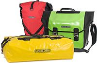 Fahrradtaschen und Packsäcke von Ortlieb