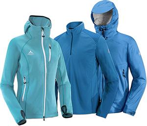Jacken und andere Bekleidung von Vaude