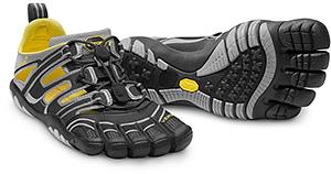 Ein sportliches Zehenschuh-Modell von Vibram Five Fingers