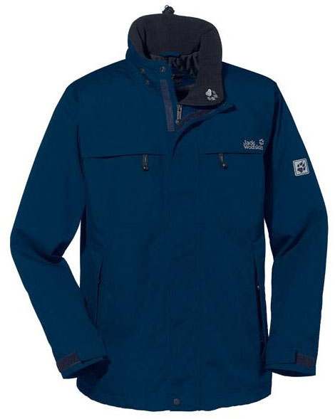 Jack Wolfskin North Country Jacket - Dunkelblau