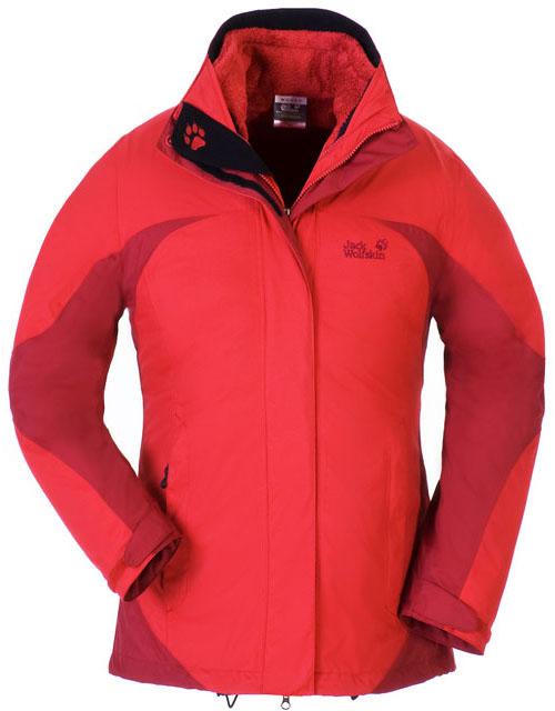 Jack Wolfskin Women's Aurora Jacket - Rot