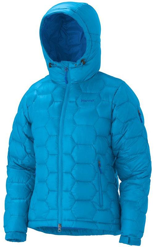 Marmot Women's Ama Dablam Jacket - Hellblau