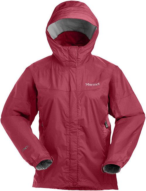Marmot Women's PreCip Jacket - Rot