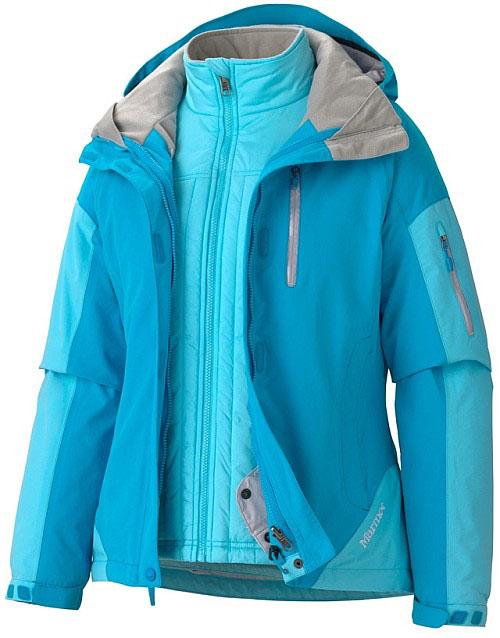 Marmot Women's Tamarack Component Jacket - Hellblau