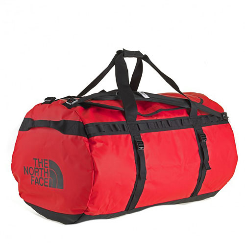 The North Face Base Camp Duffel - Rot