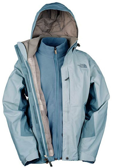 The North Face Women's Evolution TriClimate Jacket - Hellblau