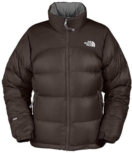 The North Face Women's Nuptse Jacket - Dunkelbraun