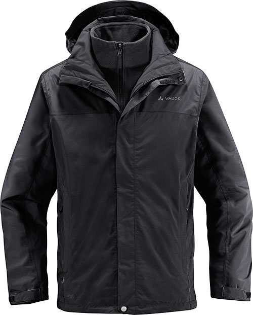 Vaude Kintail 3in1 Jacket - Schwarz