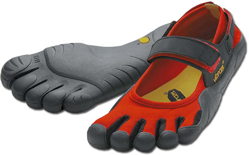 Vibram Five Fingers Sprint - Rot