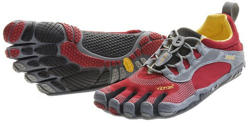 Vibram Five Fingers Women's Bikila LS - Rot