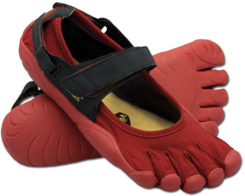 Vibram Five Fingers Women's Sprint - Rot