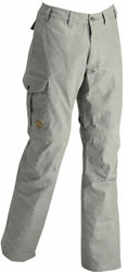 Fjällräven Karl Zip Off Trousers - Hellgrau