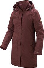 Fjällräven Women's Una Jacket - Dunkelrot