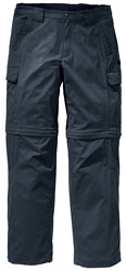 Jack Wolfskin Activate Zip Off Pants - Dunkelgrau
