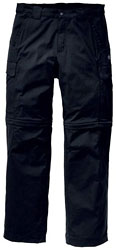 Jack Wolfskin Activate Zip Off Pants - Schwarz