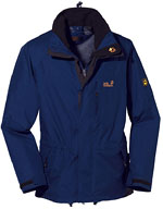 Jack Wolfskin Elements Nano-Tex Jacket - Dunkelblau