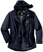 Jack Wolfskin Elements Nano-Tex Jacket - Schwarz