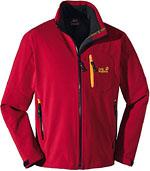 Jack Wolfskin Fusion XT Jacket - Rot