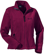 Jack Wolfskin Women's Moonrise Jacket - Dunkelrot