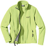 Jack Wolfskin Women's Moonrise Jacket - Hellgrün