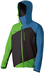 Mammut Gasherbrum Jacket - Blau / Grün