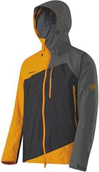 Mammut Gasherbrum Jacket - Schwarz / Gelb