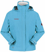 Mammut Women's Convey Jacket - Hellblau