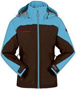 Mammut Women's Moraine Jacket - Hellblau / Braun