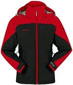 Mammut Women's Moraine Jacket - Schwarz / Rot