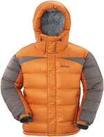 Marmot Greenland Baffled Jacket - Orange / Grau