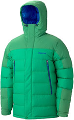 Marmot Mountain Down Jacket - Grün