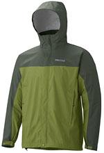 Marmot PreCip Jacket - Grün / Dunkelgrün