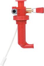 MSR Dragonfly Brennstoffpumpe - Rot