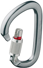 Petzl William Screw Lock - Metall