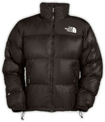 The North Face Nuptse Jacket - Dunkelbraun