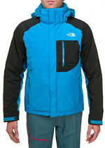 The North Face Plasma Thermal Jacket - Schwarz / Hellblau