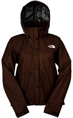 The North Face Women's Circadian PacLite Jacket - Dunkelbraun