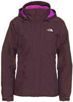 The North Face Women's Evolution TriClimate Jacket - Dunkelrot