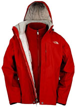 The North Face Women's Evolution TriClimate Jacket - Rot