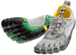 Vibram Five Fingers Women's Bikila LS - Grün