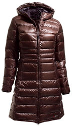 Yeti Women's Faith Coat - Dunkelbraun